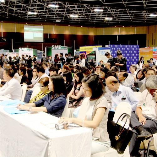 ร่วมงานมหกรรมจับคู่ดี SME แห่งชาติกับธนาคารกสิกรไทย
