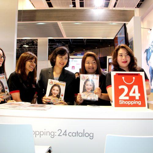 """ทเวนตี้โฟร์ ช้อปปิ้ง เข้าร่วมงาน SME Expo Spring Up Thailand  """" สานพลังเสริมความแข็งแกร่งเอสเอ็มอีไทยอย่างครบวงจร """""""