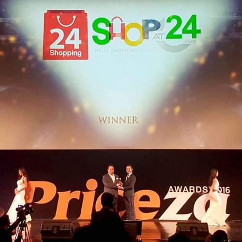 ShopAt24.com by 24 Shopping Co., Ltd. คว้ารางวัลชนะเลิศ Top Corporate Seller Awards