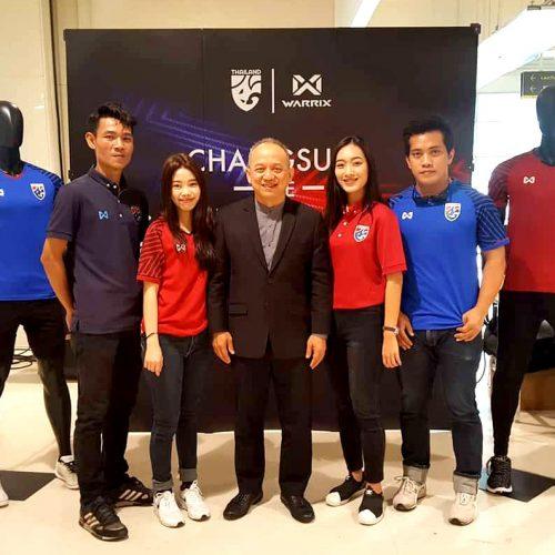 """ช้างศึกไทยกลับมาอีกครั้ง!! เปิดตัว """"Warrix New – Era Thailand 2018 Polo Collection"""""""