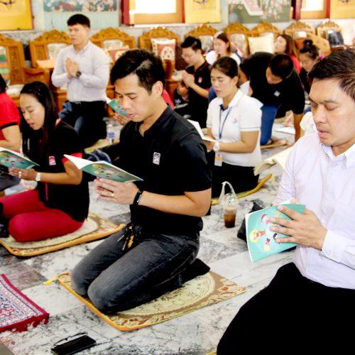 บริษัท ทเวนตี้โฟร์ ช้อปปิ้ง จำกัด จัดกิจกรรมเนื่องในวันวิสาขบูชา ณ วัดนาคกลางวรวิหาร