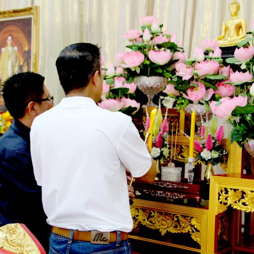 กิจกรรมพบพระ พบธรรม ในวันสำคัญทางพระพุทธศาสนาของ บจก.ทเวนตี้โฟร์ ช้อปปิ้ง เนื่องในวันมาฆบูชา